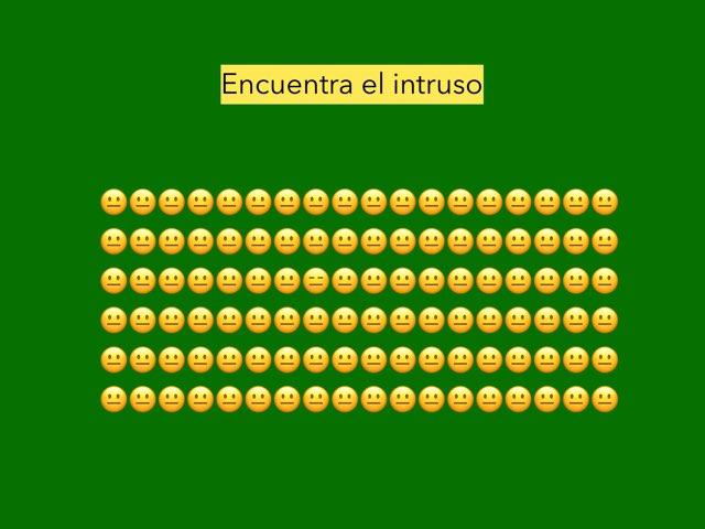 Encuentra El Intruso by Lucia Rumbo Lago