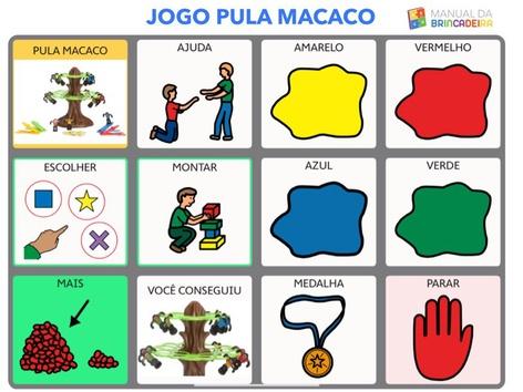 PULA MACACO PRACHA -Manual da Brincadeira by MIRYAM PELOSI