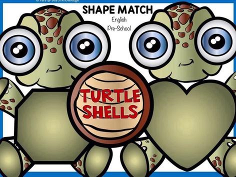 Shape Match - Turtle Shells (EN UK) by Yara Habanbou