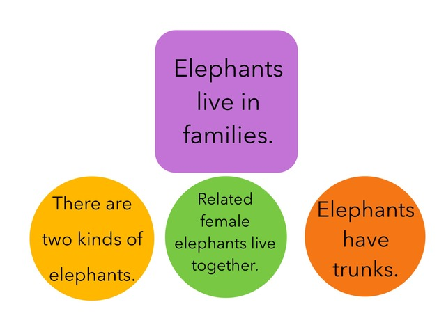 N- Elephants (Main Idea & Details) by Jacqueline Johnson