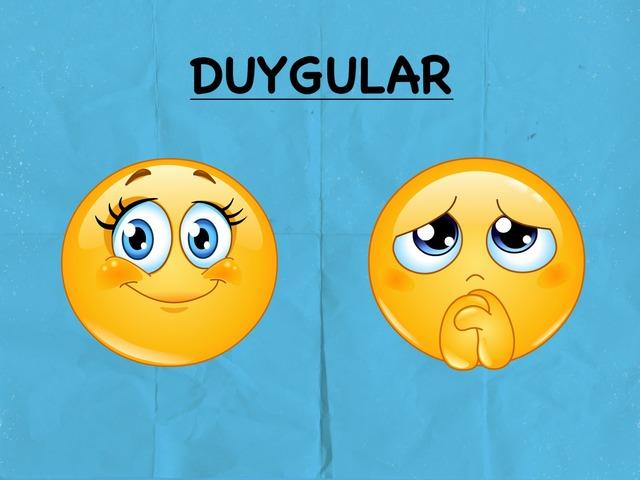 Duyguları Öğrenelim (üzgün) by Ünver Direm