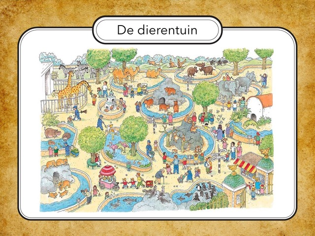 Thema Dierentuin  by Anneke Janssen