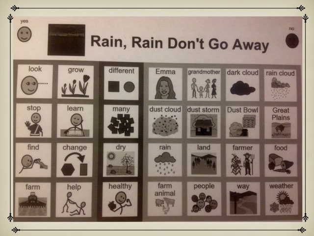 November Lesson 3: Chapter 2 Sight Word Find For Rain, Rain Don't Go Away by Tanya Folmsbee