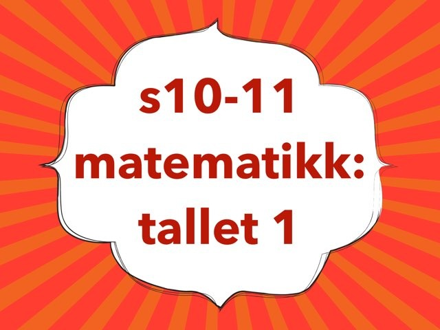 matematikk: tallet 1 by Laksen HarEn
