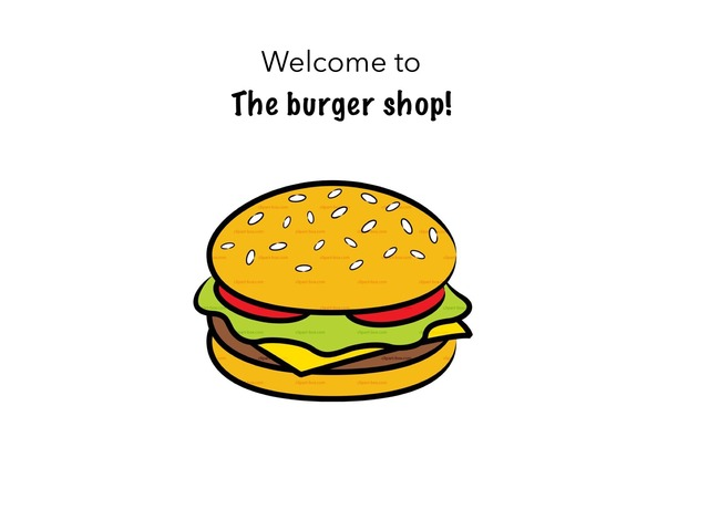 Burger Shop Learning Game by bunny Hopz