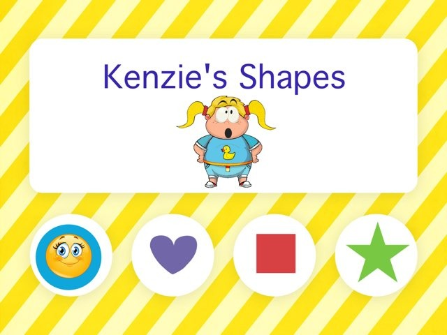 Kenzie's Shapes by Stephanie Armstrong