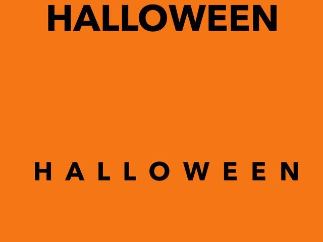 Halloween Words by Ann Leverette