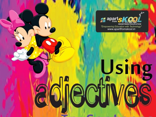Adjective  by TinyTap creator