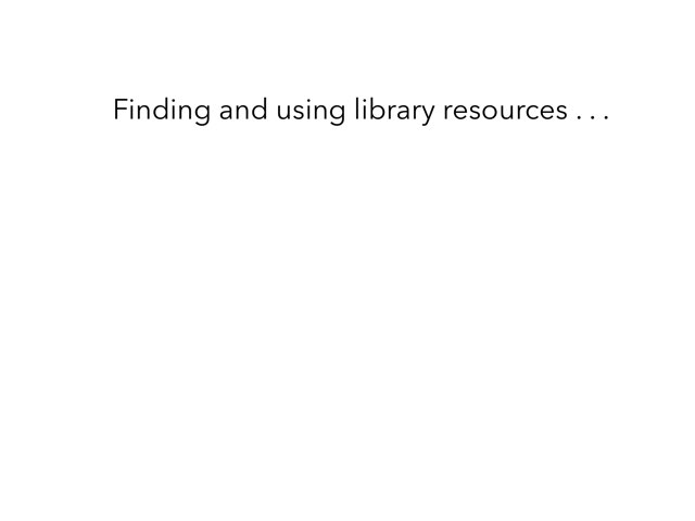 G3 Library Resources  by Suzanne Hurley
