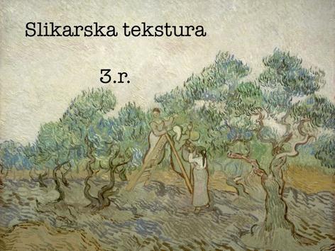 Slikarska Tekstura 3.r. by natasa delac