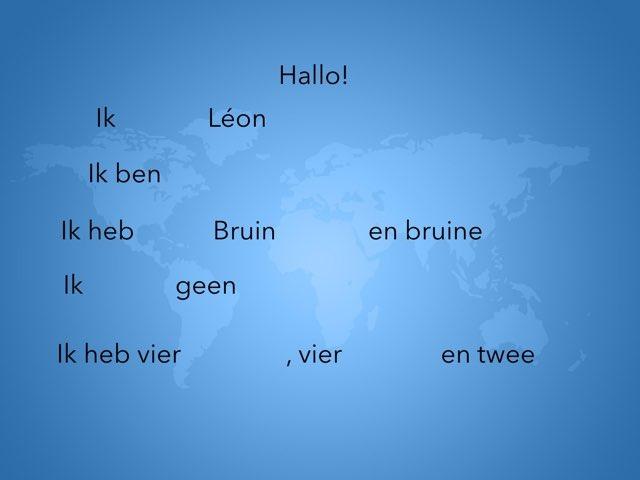 Néerlandais Présentation  by Leon Papleux