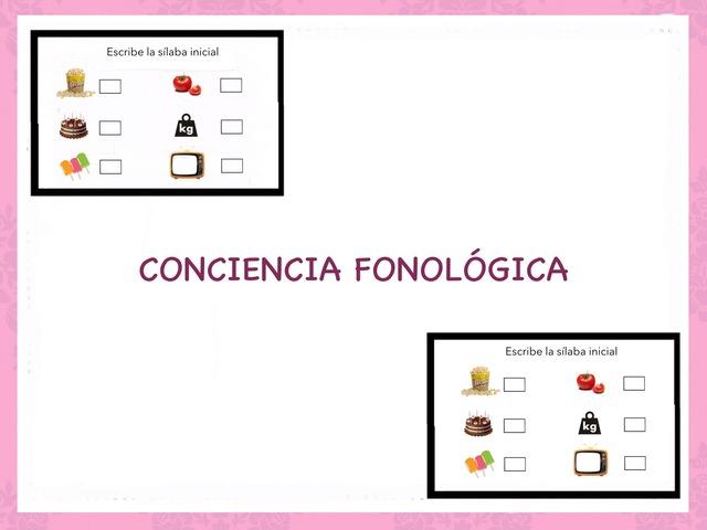 Conciencia Fonológica- Escribe La Letra Inicial by Zoila Masaveu