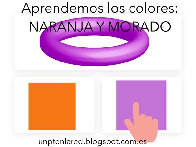Aprendemos Los Colores: Naranja Y Morado. by Jose Sanchez Ureña