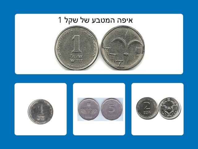 זיהוי ופריטה של  מטבעות by ליבנת ברכה רג'ואן