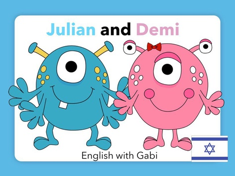 ג׳וליאן ודמי- קריאת סיפורים באנגלית by English with Gabi אנגלית עם גבי