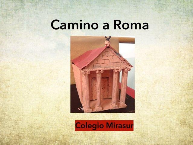 Camino a Roma by Julia Trigos Hebrero