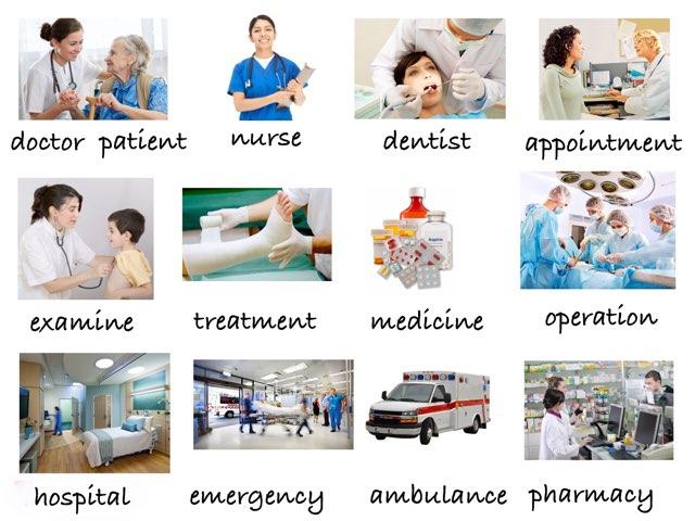Health Vocabulary by Eva Jay