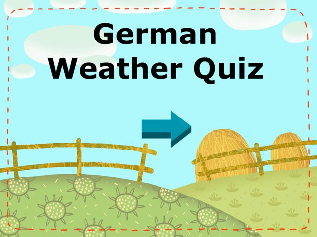 German Weather Quiz by Josh Dobos