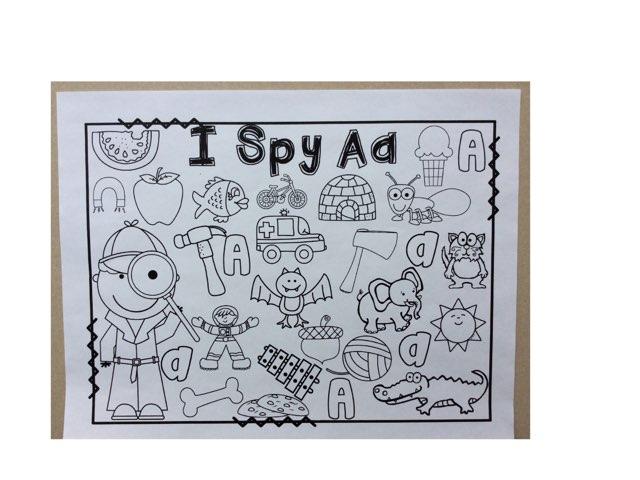 I Spy Aa by Yvonne Malone