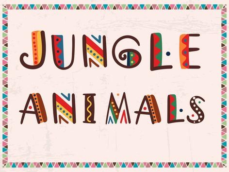Jungle Animals by Thais Baumgartner