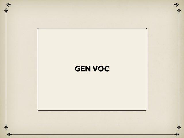 Gen voc by yuxian yeo