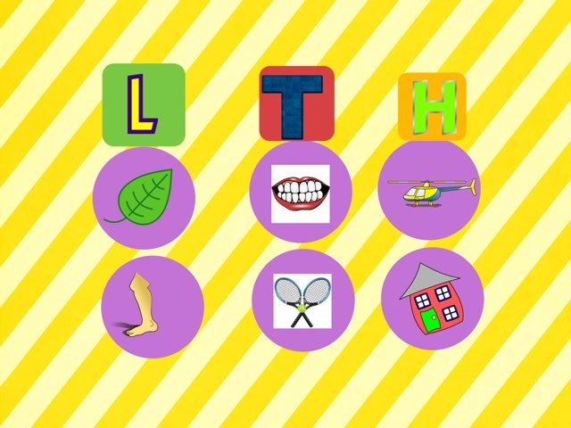 Classify words/ letter game by Lamia Ghareeb