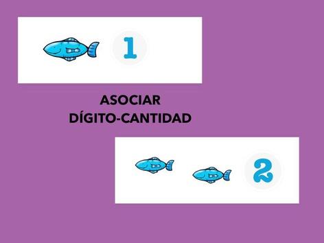 Asociar Dígito-Cantidad 1 Y 2. Parte 2 by Francisca Sánchez Martínez