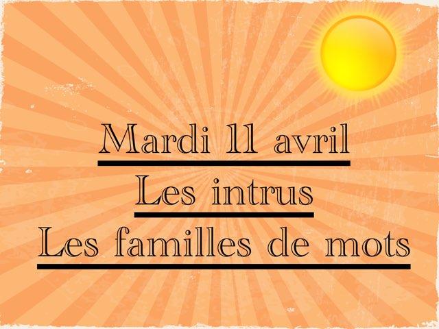 L - Mar11 - Intrus Et Familles  by Caroline Gozdek