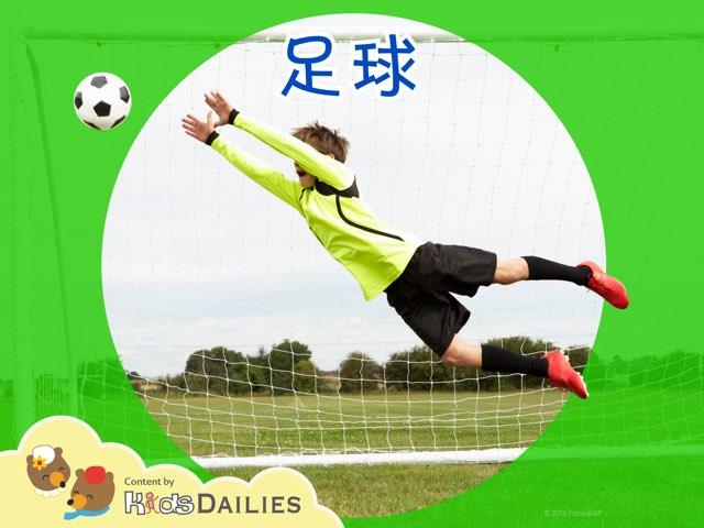 一起来学习关于足球的知识吧! by Kids Dailies