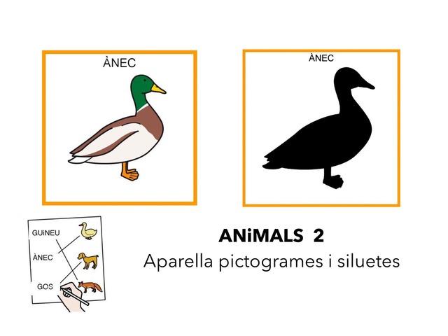 Animals 2_Parelles pictogrames amb siluetes by Escola Joan23