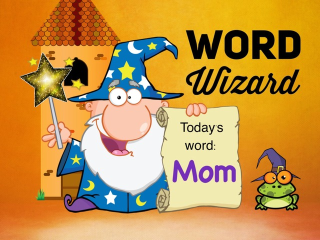 Word Wizard - Mom 4-5yr by Ellen Weber