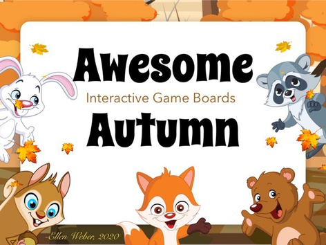 Awesome Autumn Game Boards by Ellen Weber