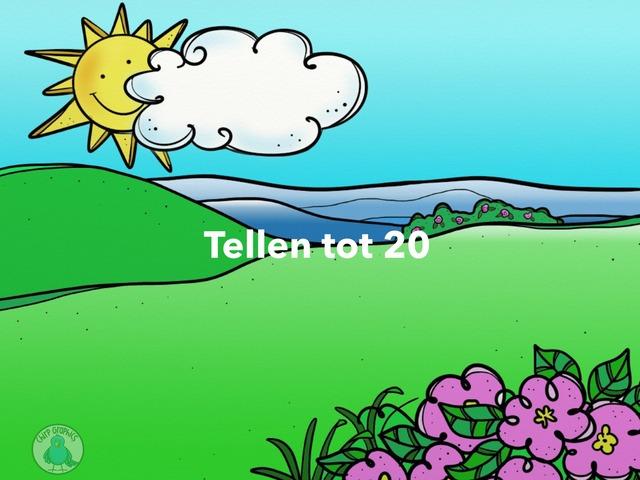 Tellen tot 20 by Silke Verhulst
