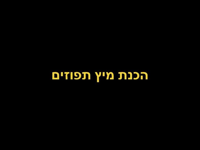 רצף הכנת מיץ תפוזים  by Orit Avner