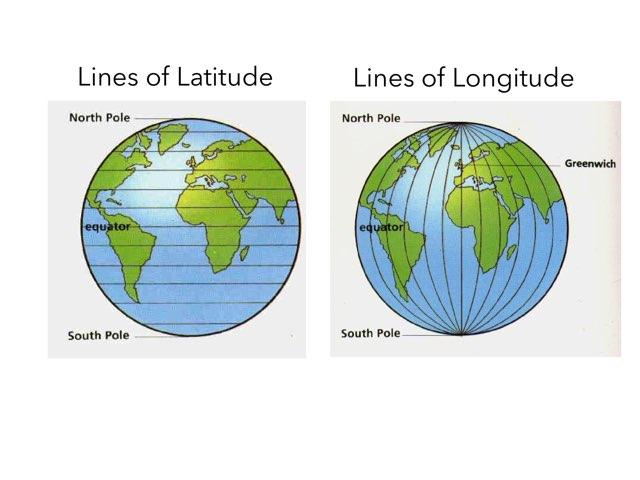 Lines of Latitude & Longitude by Melissa Chenoweth