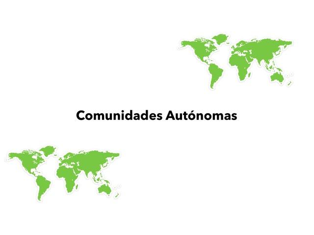 Comunidades Autónomas by Valeria Villanueva Del Arco