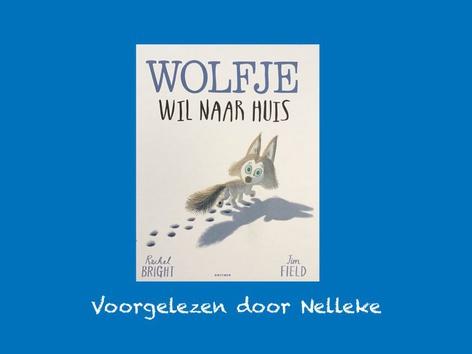 Wolfje wil naar huis by Nelleke Lürsen