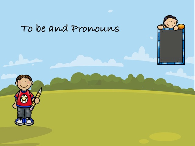 To Be And Pronouns by coral naaman