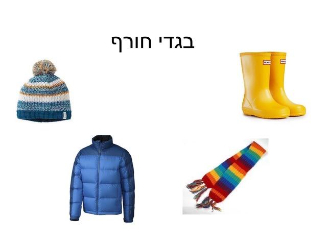 בגדי חורף גן דן  by Nizan Zuta