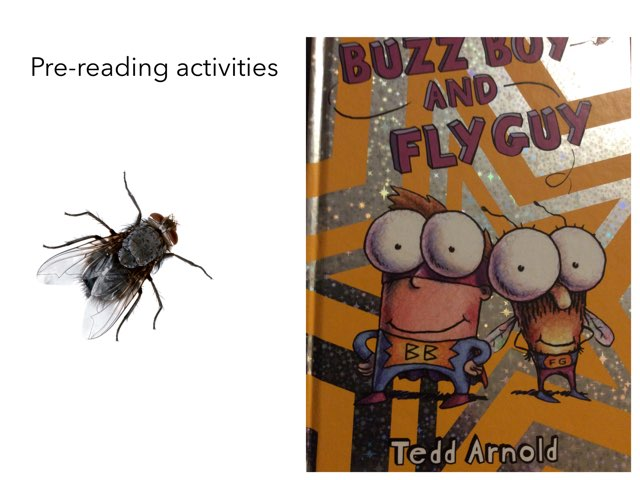 Buzz Boy And Fly Guy Pre-reading by Sarah Bosch