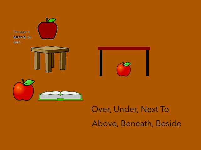 Prepositions: Over, Under, Next To by Carol Smith