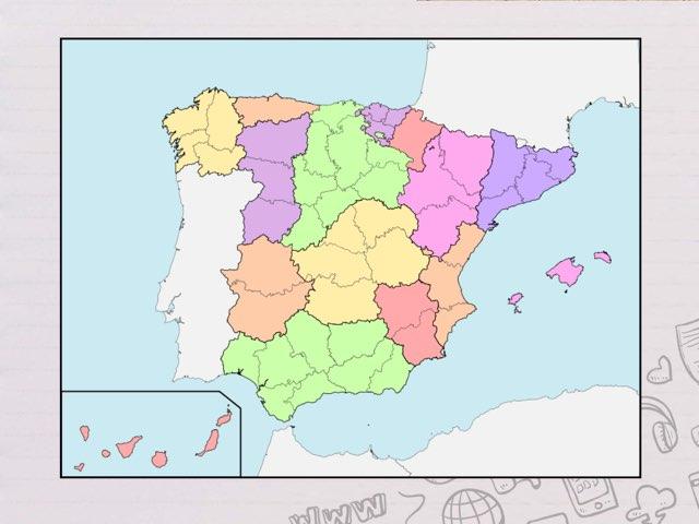 Mapa de las provincias  by Macarena Quintana