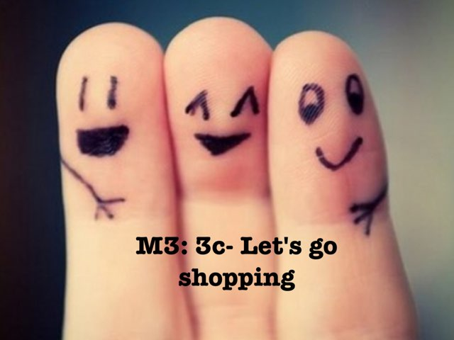 Let's Go Shopping by Fatimah Hakami