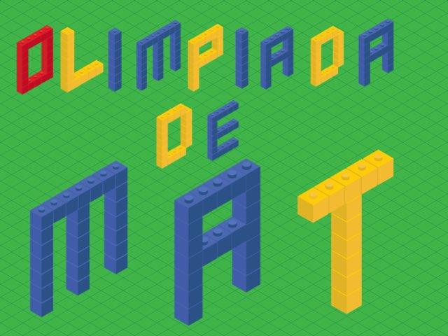 Olimpíada De Matemática  by Bruno Moreno