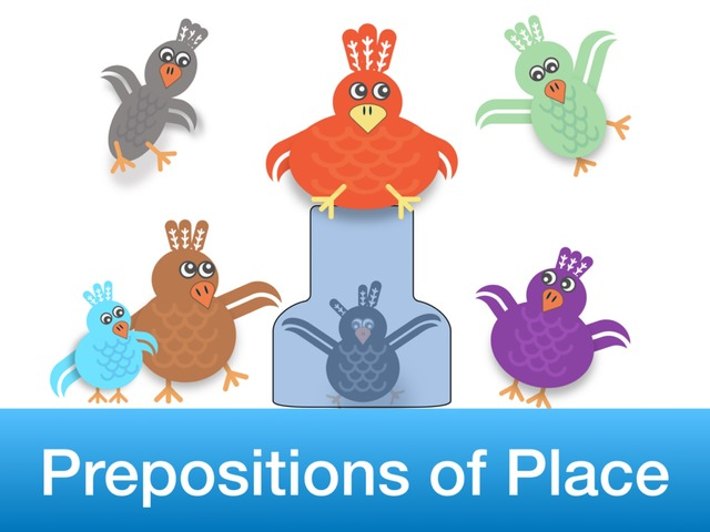 Prepositions of Place by Teeny Tiny TEFL