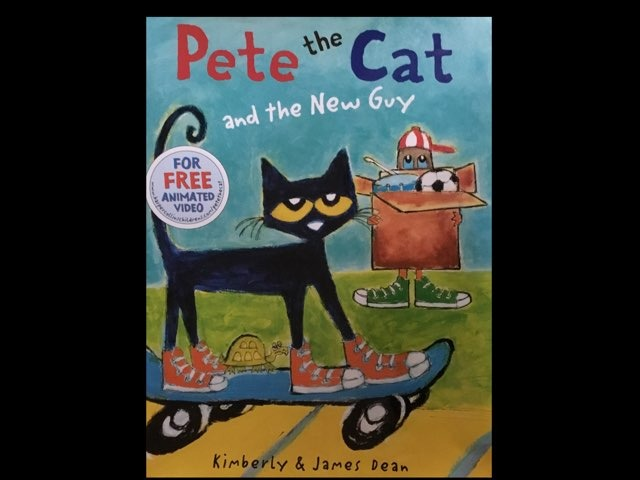 Pete The Cat And The New Guy (CVI) by Diana Fitzpatrick