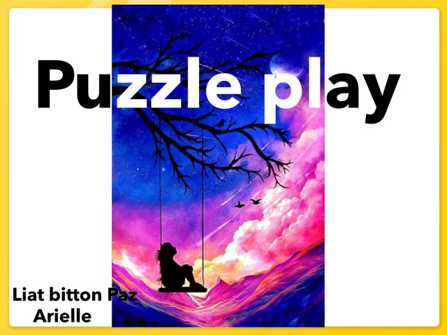 Puzzle Play 1 by Liat Bitton-paz