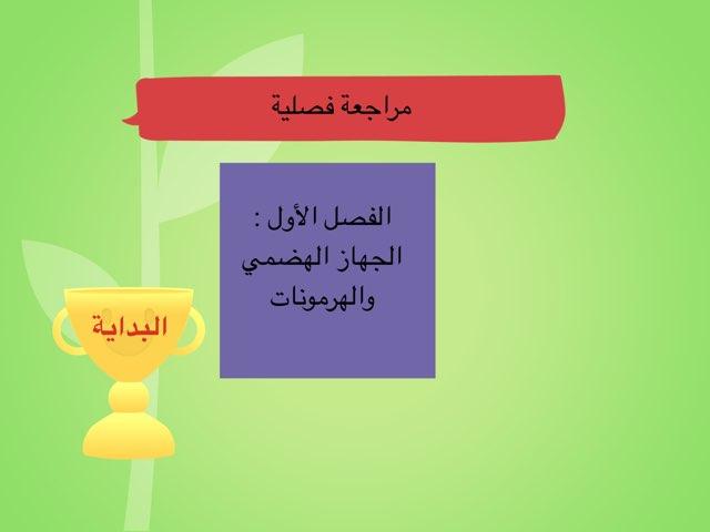 الفصل الأول  by Zahra Ahmed