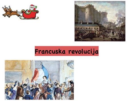 Francuska revolucija by Borka Sladonja
