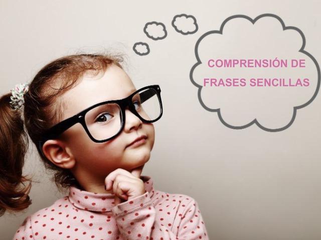 Comprensión de frases sencillas by Francisco Esteve